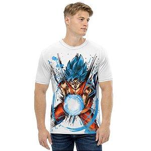 DRAGON BALL Super - Goku Super Sayajin Blue - Camiseta de Animes