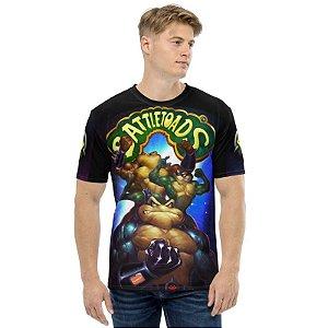 BATTLETOADS - Rash Zitz e Pimple - Camiseta de Games