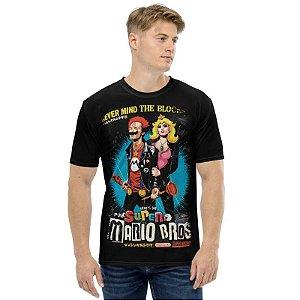 SUPER MARIO - Sex Pistols - Camiseta de Games