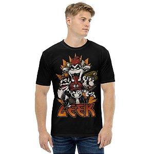 SUPER MARIO - Banda Kiss Geek - Camiseta de Games