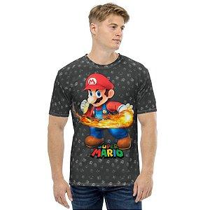 SUPER MARIO - Fire Ball - Camiseta de Games