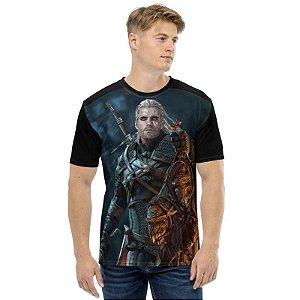 THE WITCHER - Geralt Henry Cavill - Camiseta de Games
