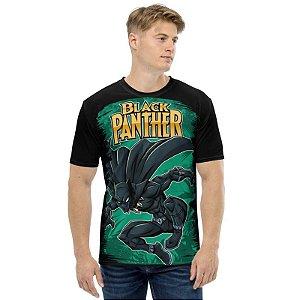 MARVEL - Pantera Negra Wakanda - Camiseta de Heróis