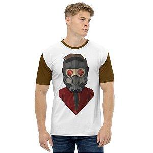 MARVEL - Peter Quill Senhor das Estrelas - Camiseta de Heróis