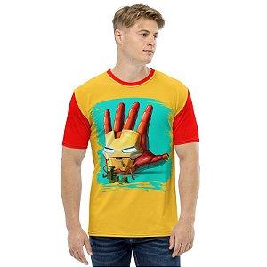 MARVEL HANDS - Homem de Ferro - Camiseta de Heróis