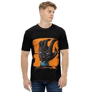 MARVEL HANDS - Pantera Negra - Camiseta de Heróis