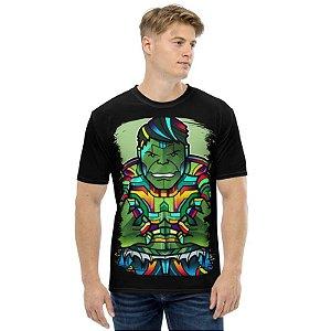 MARVEL VITRAIS - Hulk - Camisetas de Heróis
