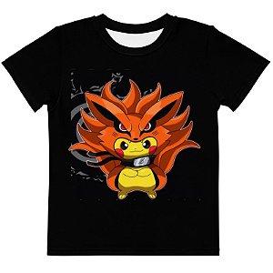 POKEMON - Pikachu Kurama - Camiseta de Animes
