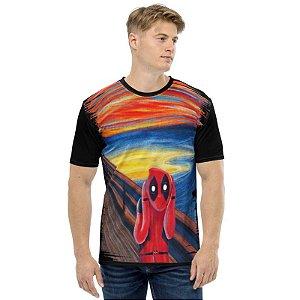 MARVEL - Deadpool O Grito - Camiseta de Heróis