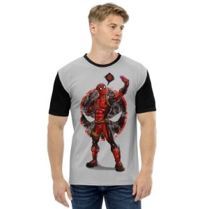 MARVEL - Deadpool Selfie - Camiseta de Heróis