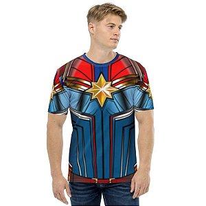 UNIFORMES - marvel Capitã Marvel HQ - Camisetas de Heróis
