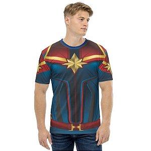 UNIFORMES - Marvel Capitã Marvel MCU - Camisetas de Heróis