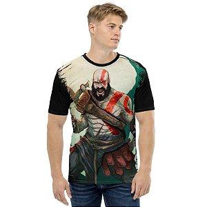 GOD OF WAR - Kratos Arte - Camiseta de Games