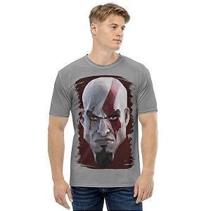 GOD OF WAR - Kratos Classic Face - Camiseta de Games