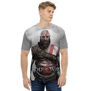 GOD OF WAR - Kratos GOW 4 - Camiseta de Games