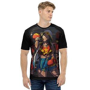 DC COMICS - Mulher Maravilha Pugilista - Camisetas de Heróis