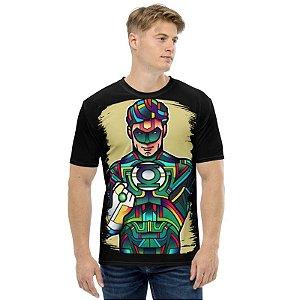 DC COMICS - Vitrais Lanterna Verde - Camiseta de Heróis