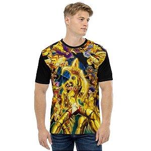 CAVALEIROS DO ZODÍACO - Saint Seya Cavaleiros de Bronze - Camiseta de Animes