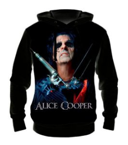 ALICE COOPER - Casaco de Moletom Rock Metal