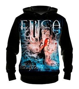 EPICA - Devine Conspiracy - Casaco de Moletom Rock Metal