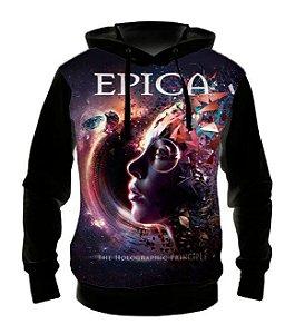 EPICA - Holografic Principle - Casaco de Moletom Rock Metal