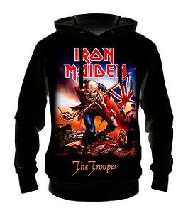 IRON MAIDEN - The Trooper - Casaco de Moletom Rock Metal