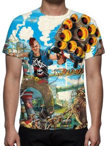 SUNSET OVERDRIVE - Camisetas de Games