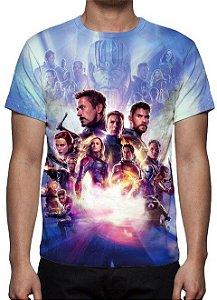 MARVEL - Vingadores Ultimato Modelo 2 - Camiseta de Cinema