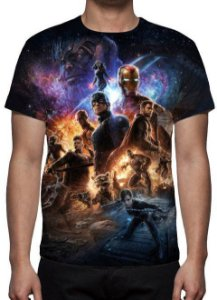 MARVEL - Vingadores Ultimato Modelo 7 - Camiseta de Cinema