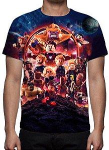 LEGO - Vingadores Guerra Infinita - Camisetas Variados