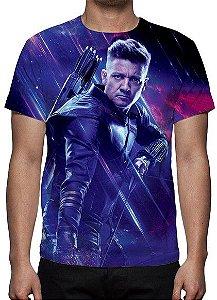 MARVEL - Vingadores Ultimato - Roxa Gavião Arqueiro - Camiseta de Cinema
