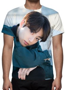 BTS Bantang Boys - Fake Love Jung Kook Modelo 2 - Camiseta de KPOP