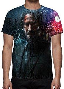 John Wick 3 - Parabellum - Modelo 2 - Camiseta de Cinema Diversos