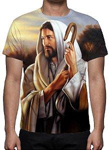 RELIGIOSOS - Jesus, O Bom Pastor - Camiseta Variada
