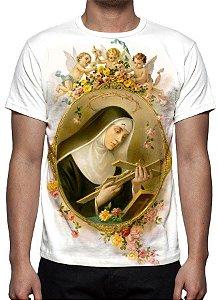 RELIGIOSOS - Santa Rita de Cassia - Camiseta Variada