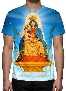 RELIGIOSOS - Nossa Senhora Candeia - Camiseta Variada