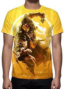 MORTAL KOMBAT 11 - Scorpion - Camiseta de Games