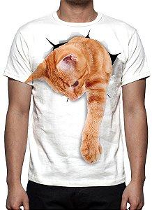 ANIMAIS - Gato Ginger - Camisetas Variadas