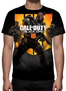 CALL OF DUTY - Black Ops 4 - Camiseta de Games