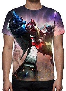 TRANSFORMERS - Starscream - Camiseta de Desenhos
