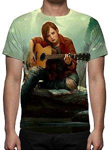 LAST OF US, The - Ellie Tocando Violão - Camiseta de Games