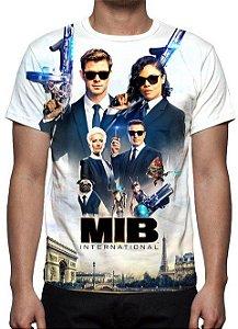 MIB HOMENS DE PRETO - Internacional Modelo 1 - Camiseta de Cinema