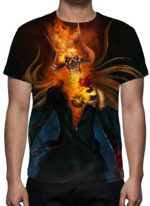 BLEACH - Ichigo Hollow - Camiseta de Animes