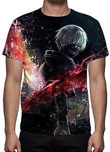 TOKYO GHOUL - Ken Kaneki Modelo 1 - Camiseta de Animes