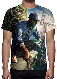 WATCH DOGS 2 - Marcus Holloway - Camiseta de Games