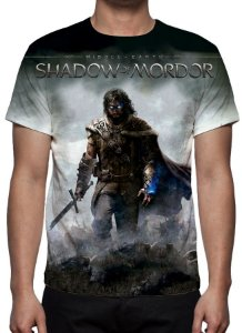 SHADOW OF MORDOR - Camiseta de Games