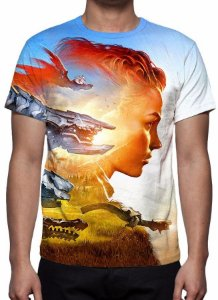 HORIZON ZERO DAWN - Modelo 1 - Camiseta de Games