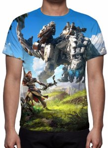 HORIZON ZERO DAWN - Modelo 2 - Camiseta de Games