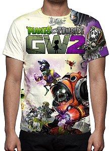 PLANTS VS ZOMBIES - Garden Warfare 2 Modelo 2 - Camiseta de Games