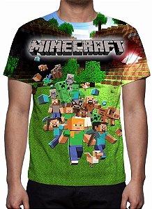 MINERCRAFT - Verde - Camiseta de Games